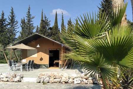 Vakantiehuis Spanje, Andalusië, Cártama glamping / safaritent / yurt Mariposa Libre - Safari Lodge-Agate