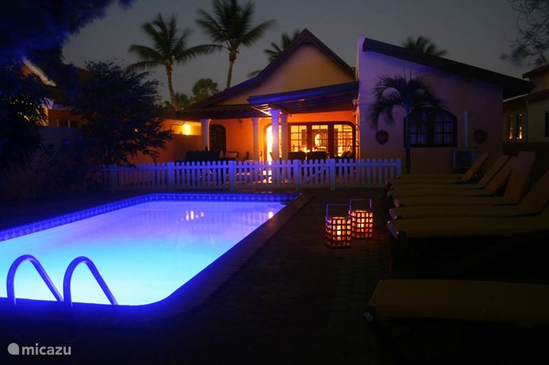 Vacation rental Aruba, North, North Villa Casa Galpy, villa with gym and pool