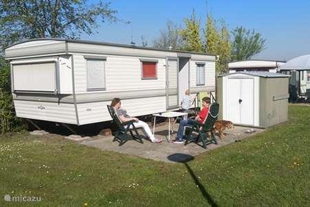Vakantiehuis Nederland, Overijssel, Wanneperveen stacaravan Stacaravan Wanneperveen