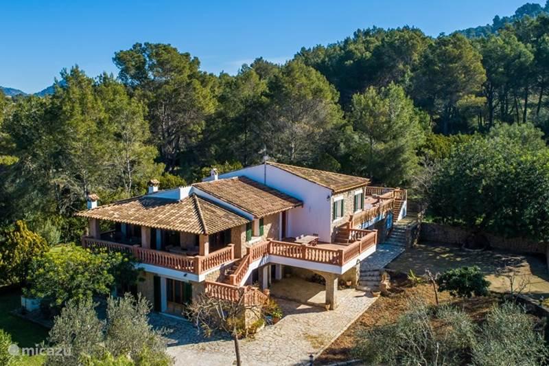 Vakantiehuis Spanje, Mallorca, Alaro Finca Finca Es Costeret de Son Grau