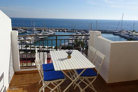 Vakantiehuis Spanje, Costa Blanca, Moraira appartement Casa Miramar