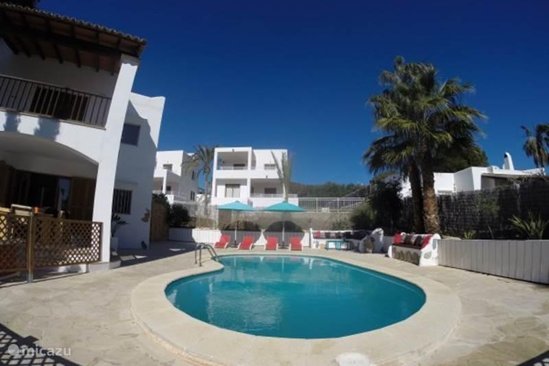 Ferienwohnung Spanien, Mallorca, Cala d`Or Appartement Wohnung mit Pool am Strand