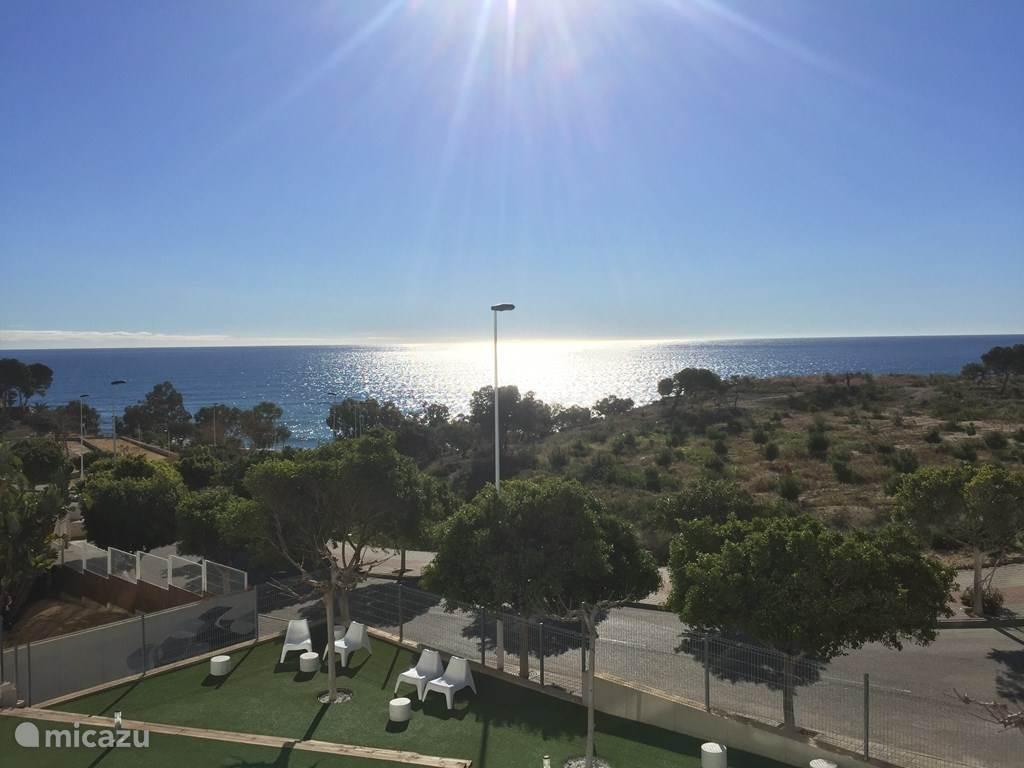 Vakantiehuis Spanje, Costa Blanca, Villajoyosa appartement Toplocatie aan zee dichtbij centrum