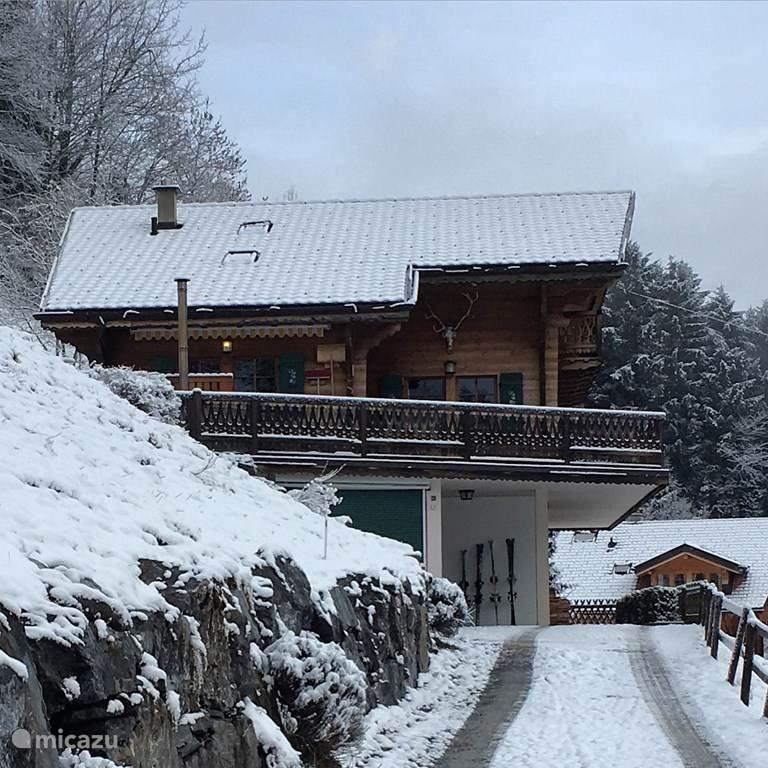 Vakantiehuis Zwitserland, Wallis, Champéry chalet Les Deux Sources