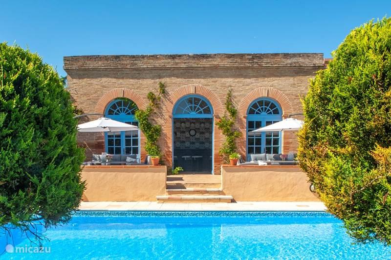 Vakantiehuis Frankrijk, Tarn-et-Garonne, Vigueron Landhuis / Kasteel Chateau Gites Escudes