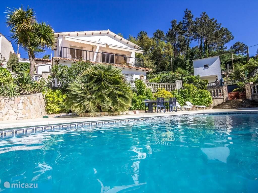 Vakantiehuis Spanje, Costa Brava, Lloret de Mar villa Villa Rossello