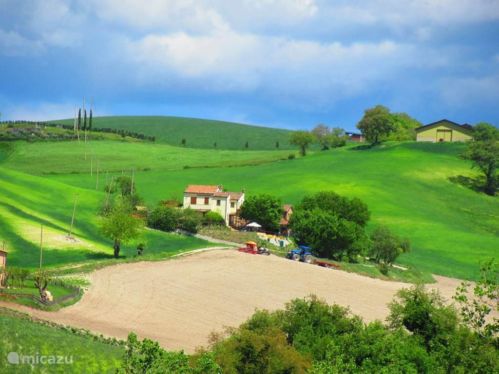 Vakantiehuis Italië, Marche, San Vito sul Cesano - appartement Casa dei sogni d'oro-app. Loretello