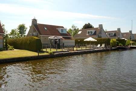Vakantiehuis Nederland, Friesland, Woudsend - bungalow Huisje Balk