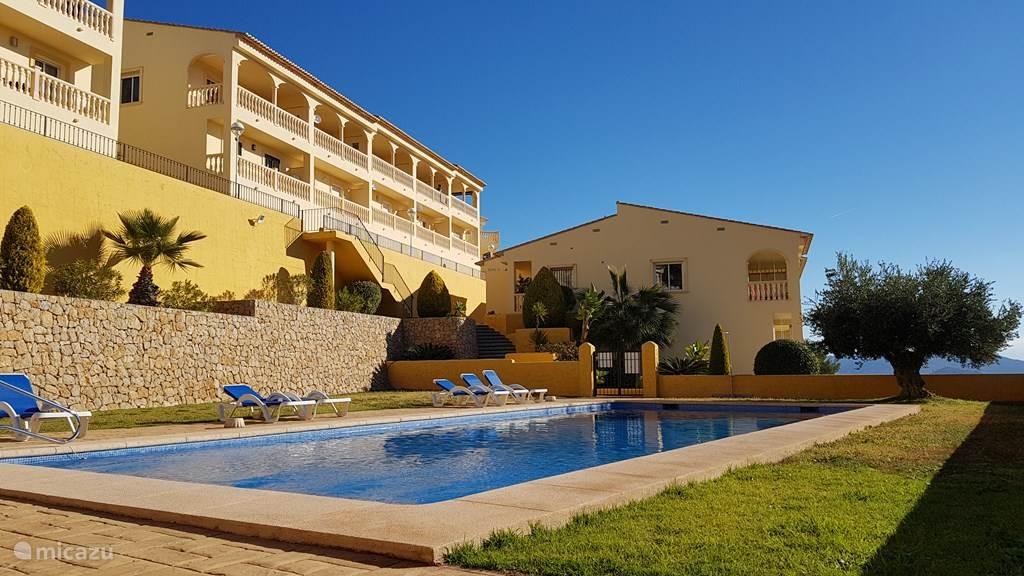 Ferienwohnung Spanien, Costa Blanca, Jalón ferienhaus Casa Bella Vista, Jalon