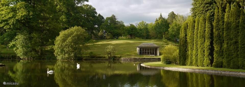 Arboretum van het kasteel van Neuvic d'Ussel