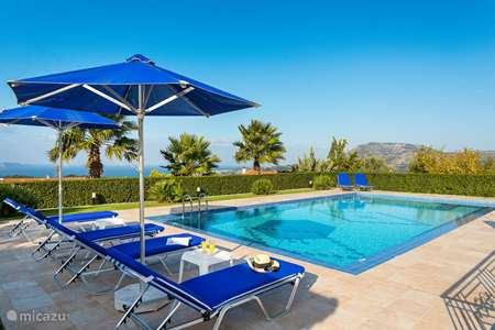 Vacation rental Greece – villa Villa between Vamos and Kalives