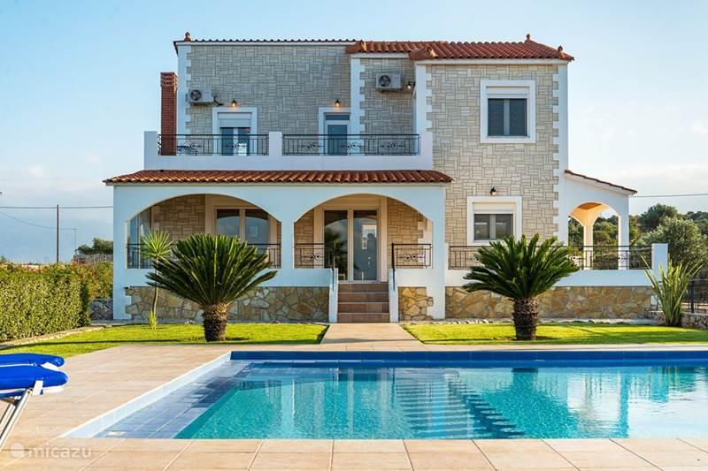 Vakantiehuis Griekenland, Kreta, Fyssaeri Villa Villa tussen Vamos en Kalives