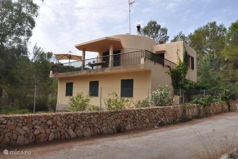 Vakantiehuis Spanje, Mallorca, Cala Santanyi Vakantiehuis S'amarador playa
