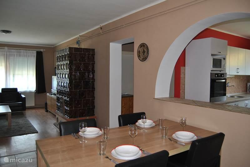 Vakantiehuis Hongarije, Balatonmeer, Szölösgyörök Vakantiehuis Huis Johanna