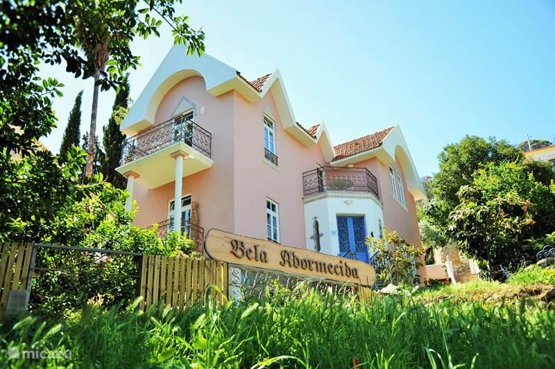 Vakantiehuis Portugal, Algarve, Caldas de Monchique Bed & Breakfast DOORNROOSJE princes slaapkamer