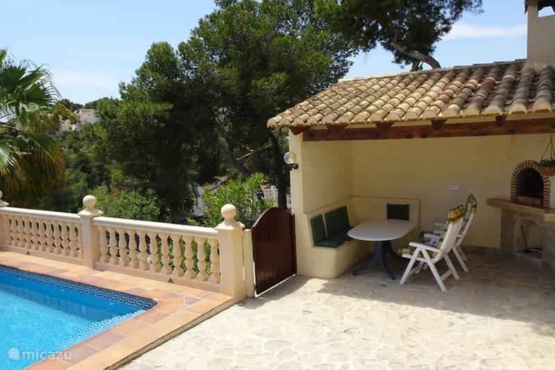 Vakantiehuis Spanje, Costa Blanca, Javea Villa Vista Brillante met VRIJ UITZICHT!!