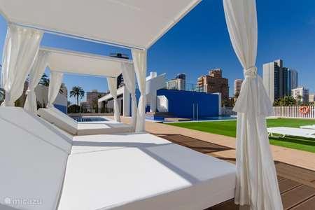 Vakantiehuis Spanje, Costa Blanca, Calpe appartement Arenal Beach nieuwbouw appartement