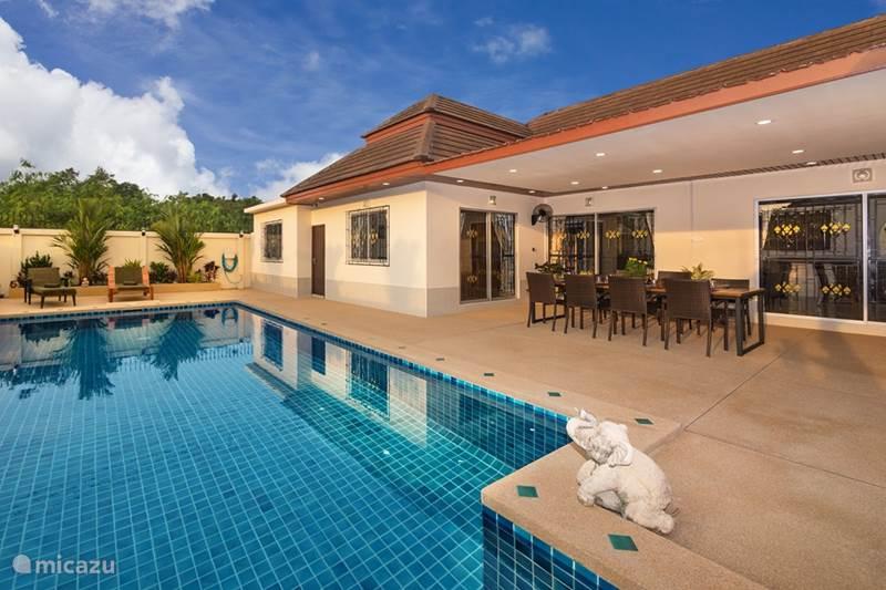 Vakantiehuis Thailand, Oostelijke Golfkust, Pattaya Villa Villa Bos 5 min van het strand