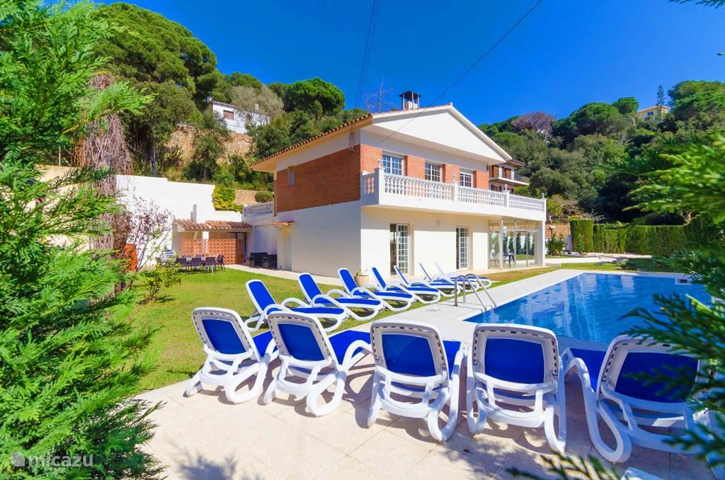 Vakantiehuis Spanje, Costa Brava, Lloret de Mar villa Jade