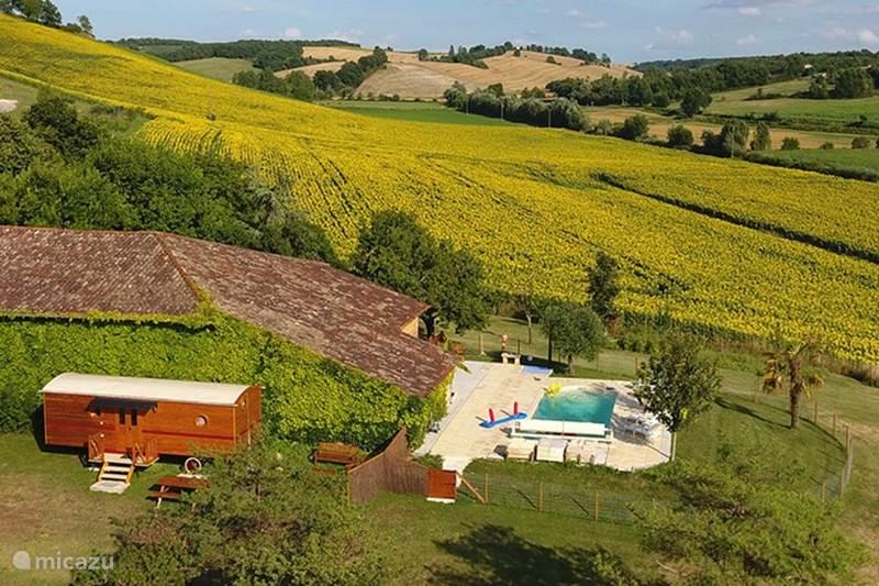 Vakantiehuis Frankrijk, Tarn, Montvalen Stacaravan Roulottes du Raxol