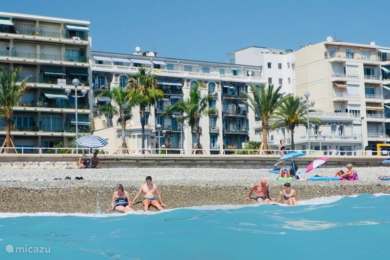 Vakantiehuis Frankrijk, Côte d´Azur, Nice Appartement Prachtig appartement aan zee in Nice