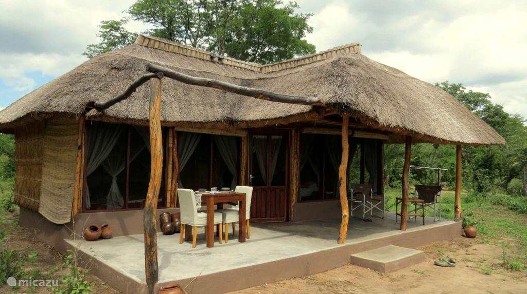 Vakantiehuis Zambia – chalet Malama Umoyo Cottages