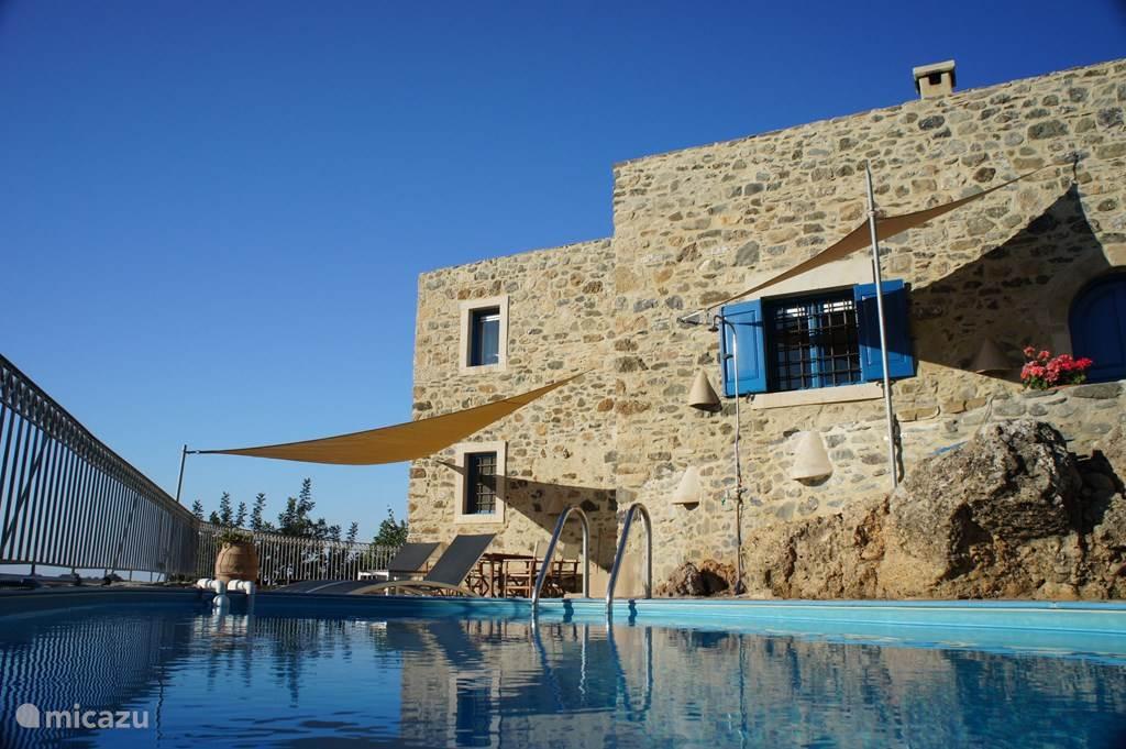 Vacation rental Greece, Crete, Kamilari villa Oilmill Villa