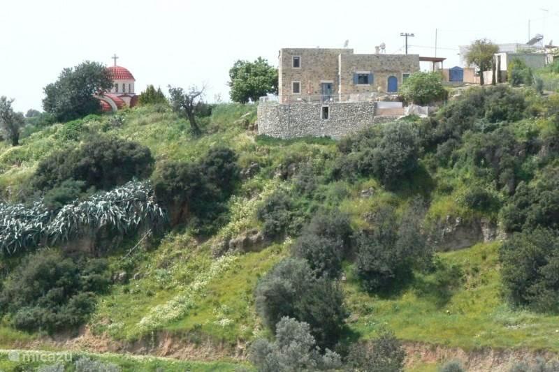 Vakantiehuis Griekenland, Kreta, Kamilari Villa Oilmill Villa
