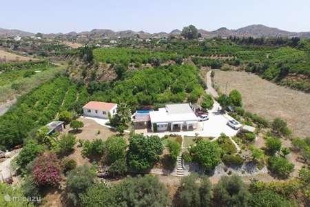 Vakantiehuis Spanje, Andalusië, Estacion de Cartama finca Finca Azul