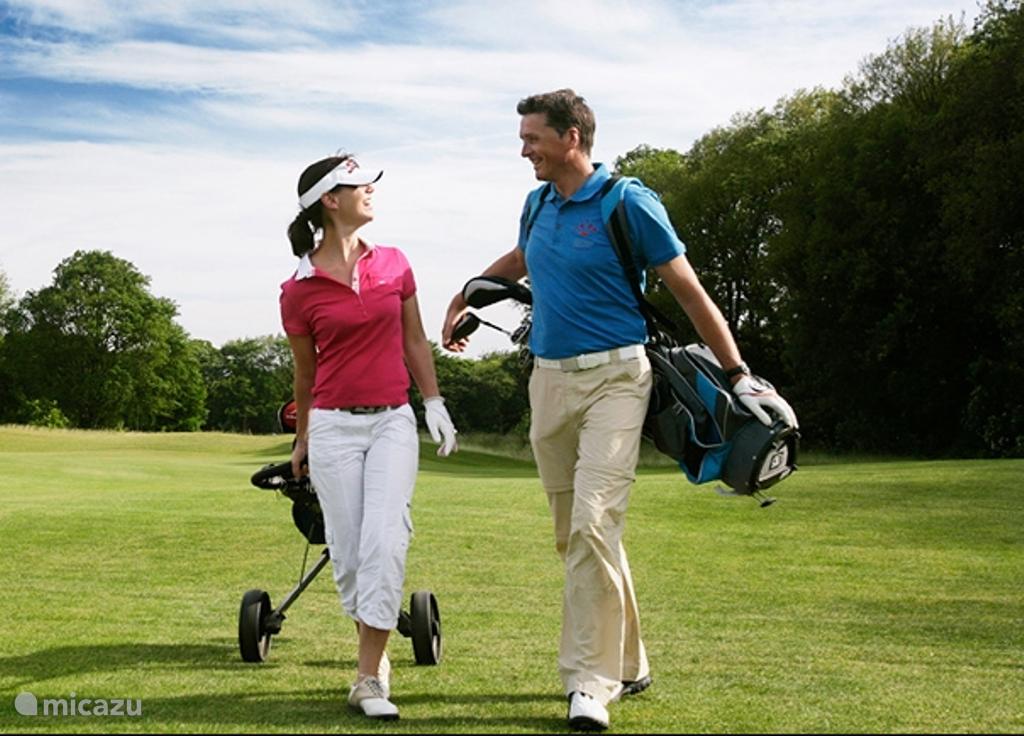 Golfbaan op loopafstand
