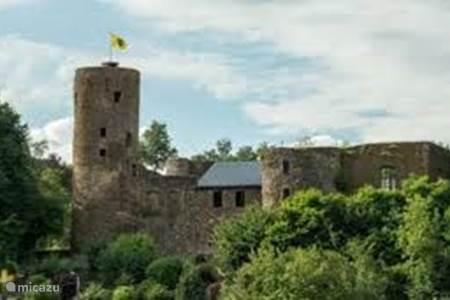 Castle ruins in Burg Reuland (4m)