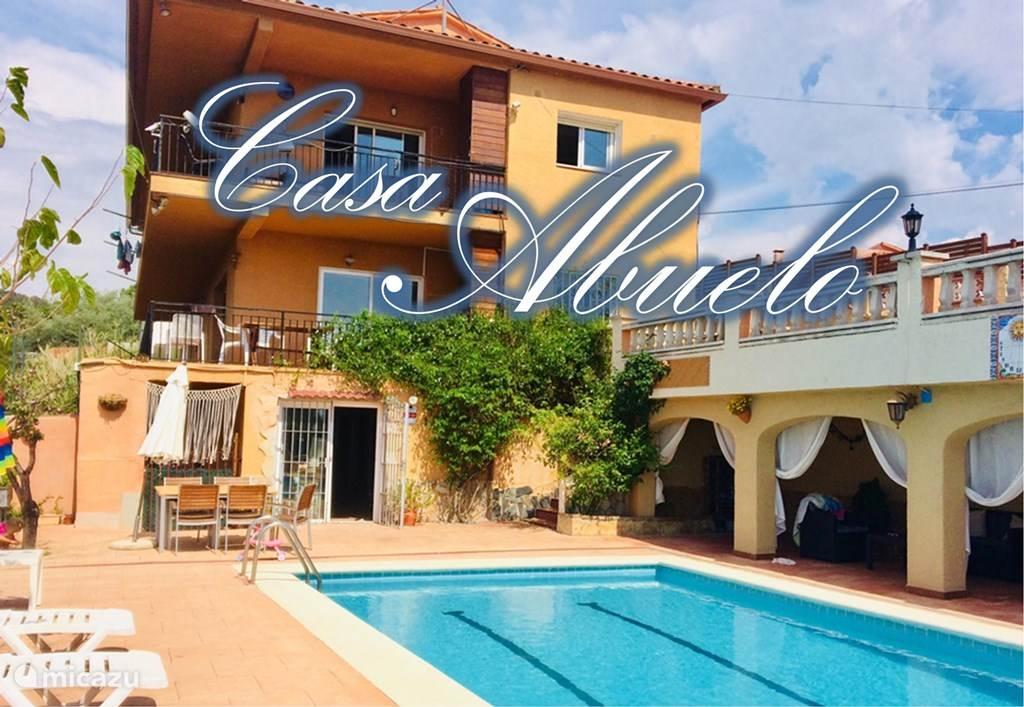 Vakantiehuis Spanje, Costa Brava, Lloret de Mar - villa Casa Abuelo