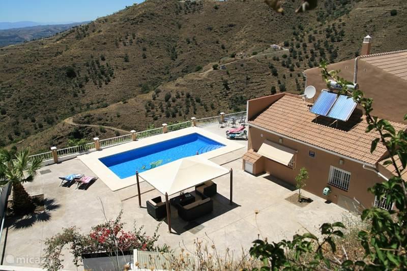 Vakantiehuis Spanje, Andalusië, Algarrobo Villa Villa met zwembad
