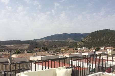Vakantiehuis Spanje, Andalusië, Velez Rubio stadswoning Casa LunaVista
