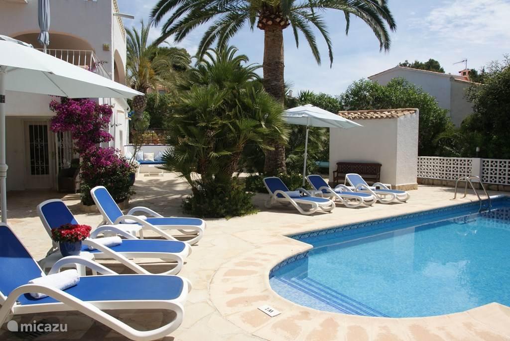 Vakantiehuis Spanje, Costa Blanca, Moraira villa Villa Las Margaritas