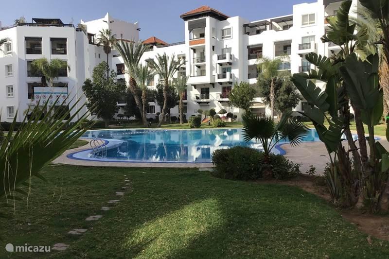 Vakantiehuis Marokko, Atlantische Kust, Agadir Appartement Appartement AZURE