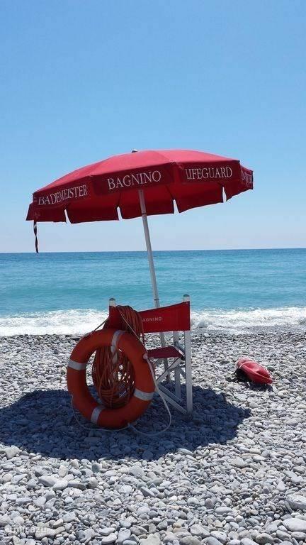 Stranden van Ventimiglia