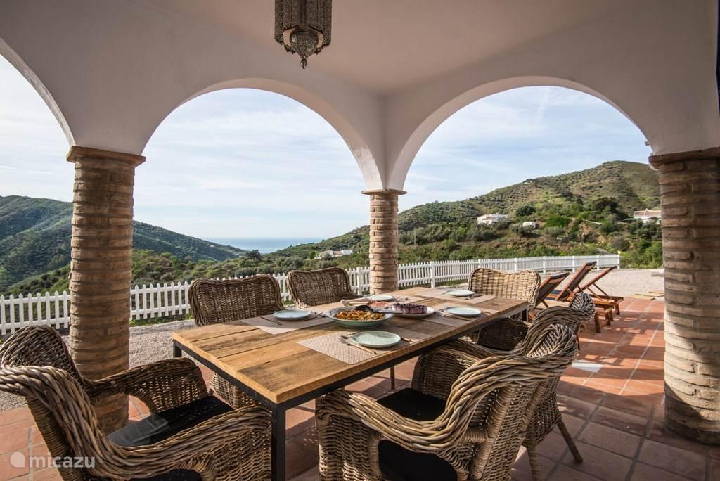 Vakantiehuis Spanje, Andalusië, Arenas de Vélez Villa Aslaurey