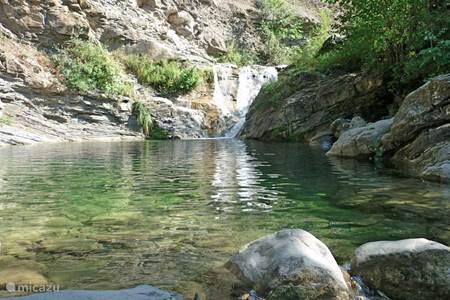 Watervallen in de buurt