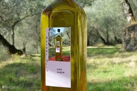 Onze eigen extra vergine olijfolie