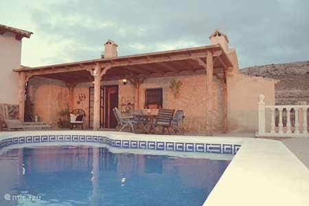 Vakantiehuis Spanje, Murcia, Torre del Rico finca Casa Pantorra