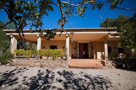 Vakantiehuis Spanje, Costa del Azahar, Navarrés vakantiehuis Casa rural in de bergen van Navarrés