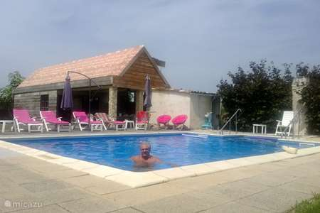 Vakantiehuis Frankrijk, Tarn, Le Ségur gîte / cottage La Forge Grande & Petite samen 12per