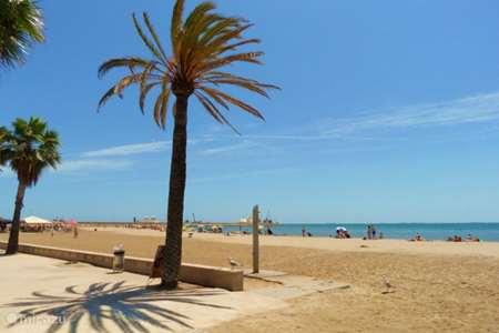 Vakantiehuis Spanje, Costa Dorada, Sant Carles de la Ràpita – appartement  app.op de begane grond met airco .
