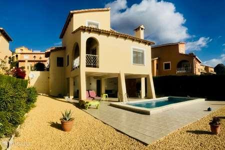 Vakantiehuis Spanje, Costa Blanca, Relleu villa Casa Muscaret