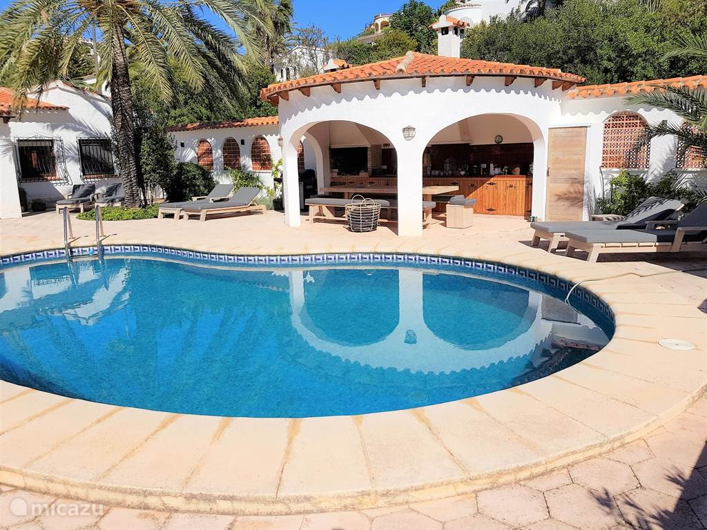 Vacation rental Spain, Costa Blanca, Benissa villa Villa Natimar
