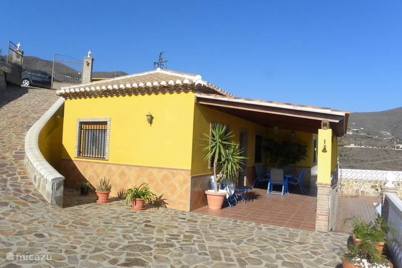Vakantiehuis Spanje, Costa del Sol, Almunecar Villa Villa Fernando - 180° zeezicht