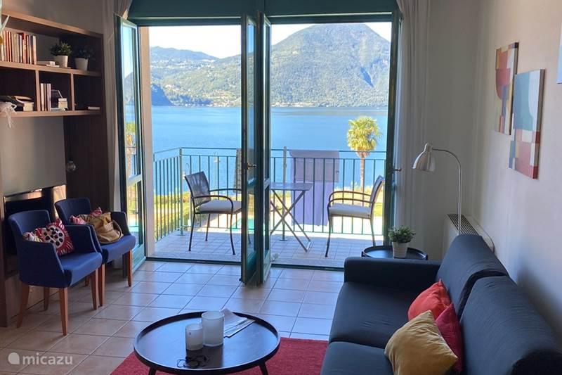 Vakantiehuis Italië, Italiaanse Meren, Porlezza Appartement Residence Porto Letizia  S7