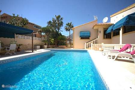 Vacation rental Spain, Costa Blanca, La Nucia - villa Villa Rubia