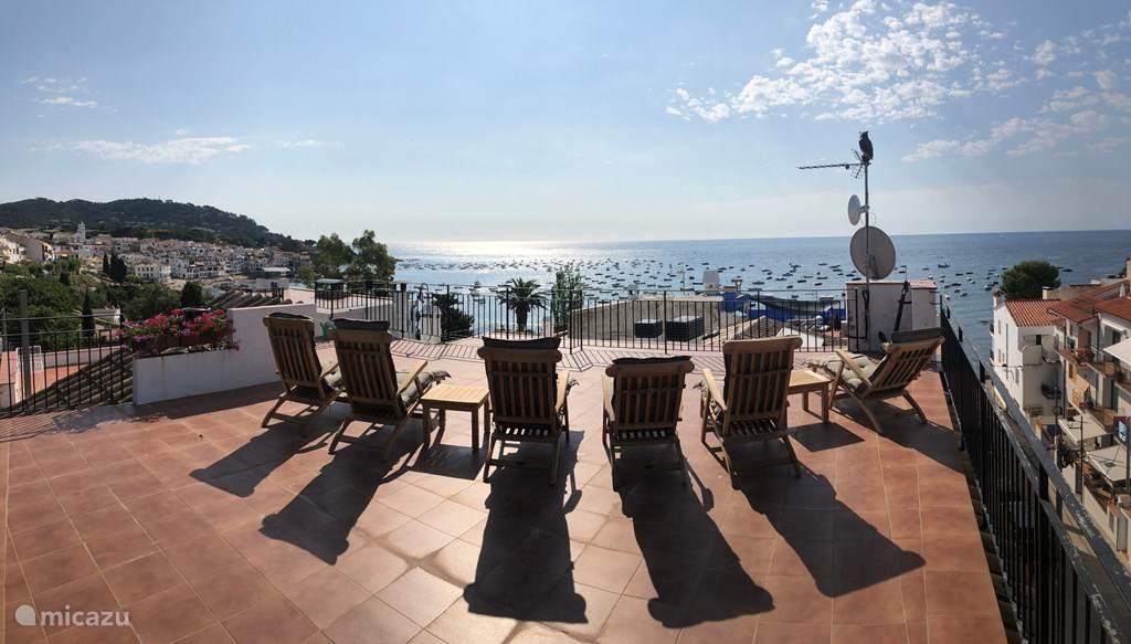 Vakantiehuis Spanje, Costa Brava, Calella de Palafrugell penthouse Beachlodge Casadam